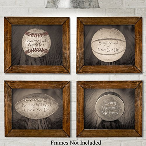 inspirational-sports-quotes-prints-set-of-four-photos-8x10-unframed-great-gift-for-boys-room-decor