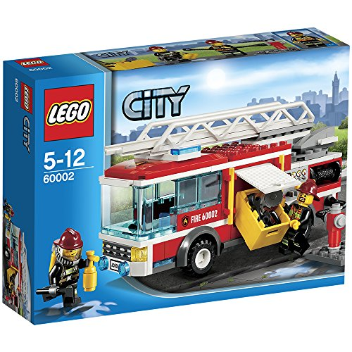 amazoncom lego city fire truck toys games - Camion Lego