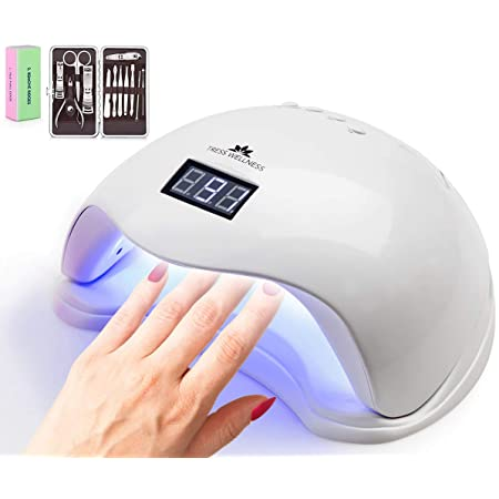 Tress Wellness UV Nail Lamp and Manicure Set