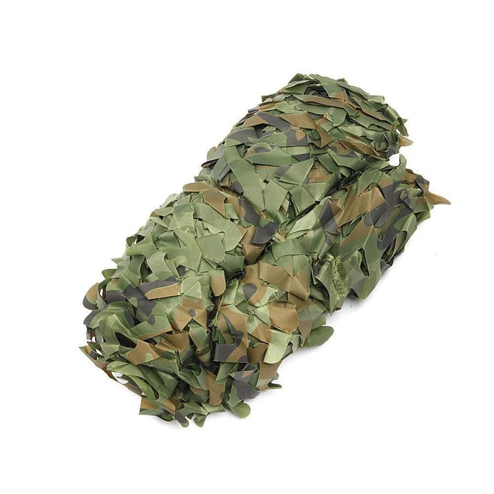 9×9m BÂche de tente Filet de camouflage Filet de camouflage extérieur Filet de camouflage extérieur Filet de prougeection solaire Bunker Filet de camouflage de défense aérienne (Taille  6 & times; 6m) Filet