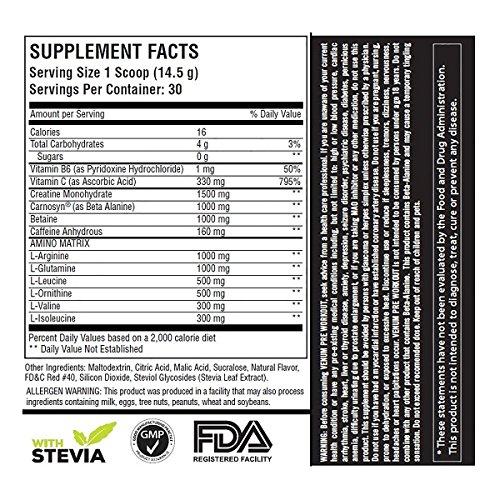 Venum Pre-Workout - 30 servings - Fruit Punch