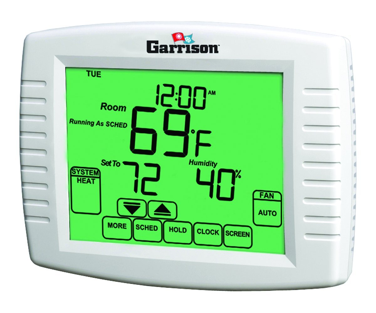 Landlord Thermostat Limits Heat to 71 degrees and A/C to 76 degrees completely tamper proof thermostat by Garrison