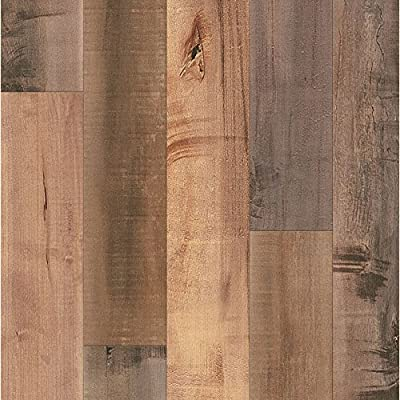 Armstrong Architectural Remnants Grey, Beige, and Brown Laminate Flooring Pack (13.07 Square Feet Per Case Pack)