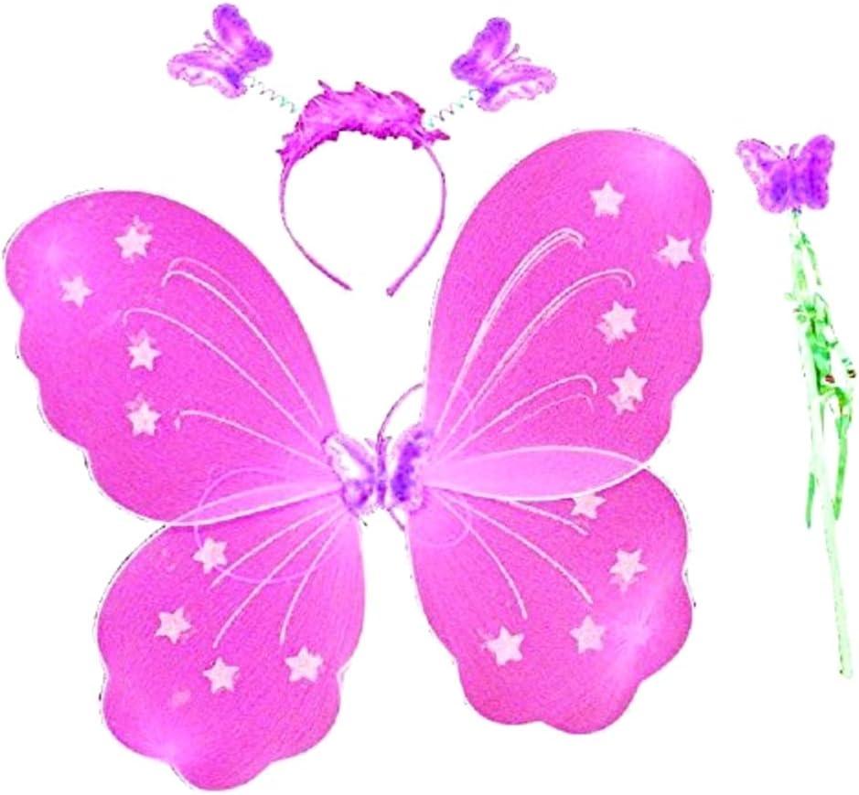 Lote disfraz de alas de mariposa - disfraz - carnaval - halloween ...