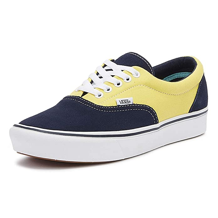 Vans Herren Sneaker ComfyCush Era Dress Blue / Aspen Gold Größe EU 44,5