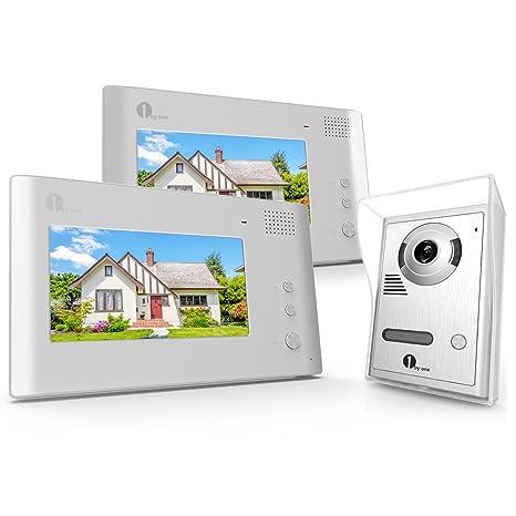 Amazon 1byone Video Doorphone 2 Wires Video Intercom System 7