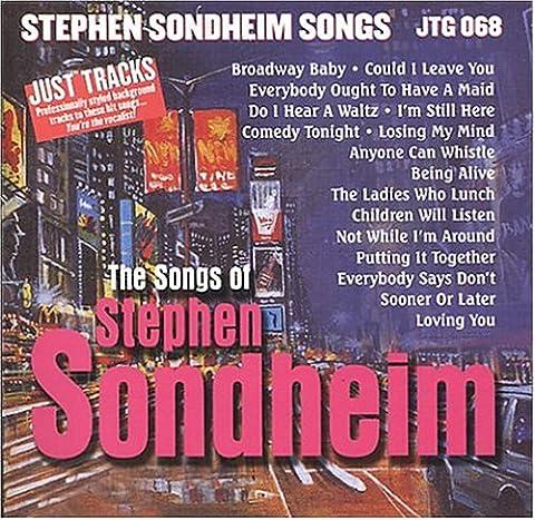 Stephen Sondheim Songs (Karaoke) - Pocket Songs Karaoke