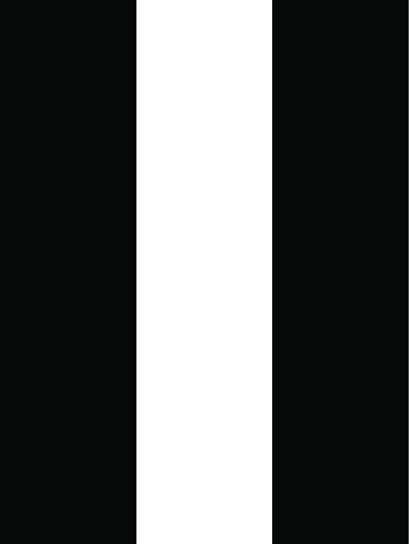 REPEEL Black and White Stripe   Designer Removable Peel and Stick Wallpaper