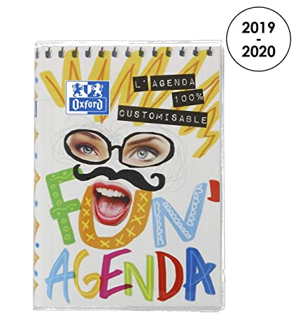 Oxford fun agenda - Agenda escolar (años 2017 - 2018 1 día ...