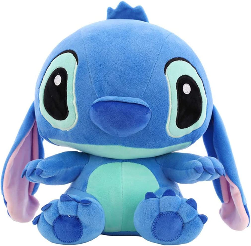 2019 Giant Cute Disney Blue Lilo Stitch Stuffed Animal Plush Toy Doll Xmas Gift
