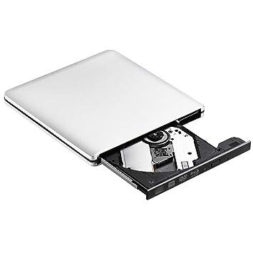 Unidad BLU-Ray Externa, USB 3.0, Reproductor de BLU Ray Externo, Grabador