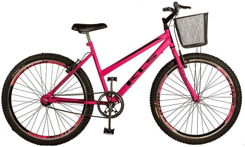 Bicicleta Mtb Kls Free Gold Aro 26 Freio V-Brake Feminina