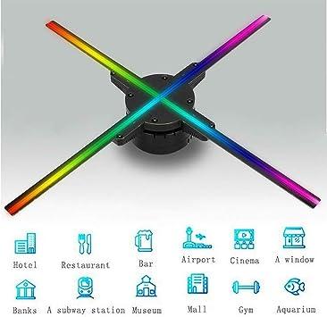 Haomingxing WiFi Proyector holográfico 3D Actualización 50CM 4 ...
