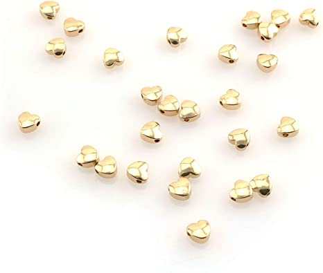 Premium Quality Platinum Plated Copper Beads for DIY Craft Bracelet Necklace