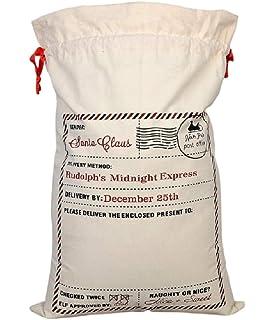 Amazon.com: Grandes bolsas de Navidad Santa sacos ~ elegir ...