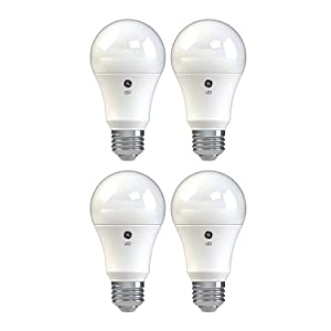 GE Lighting 37004 Basic LED (60-Watt Replacement), 750-Lumen A19 Bulb, Medium Base, Daylight, 4-Pack, Title 20 Compliant