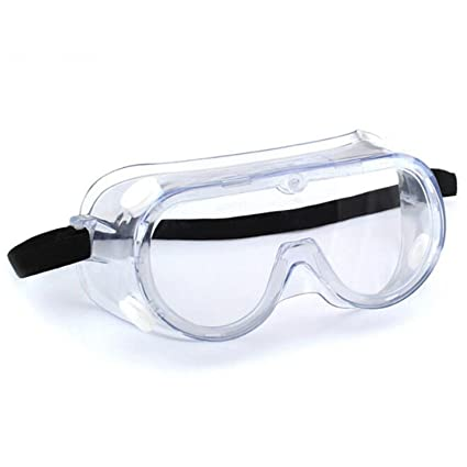 d99f92954c Enshey Safety Goggle Chemical Splash and Impact Resistant Goggle Clear  Anti-Fog Anti-