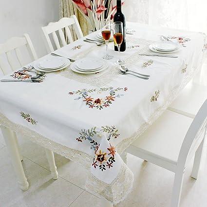 Gallery of tovaglia fiori di lavanda ricami e pizzi - Tovaglie Da ...