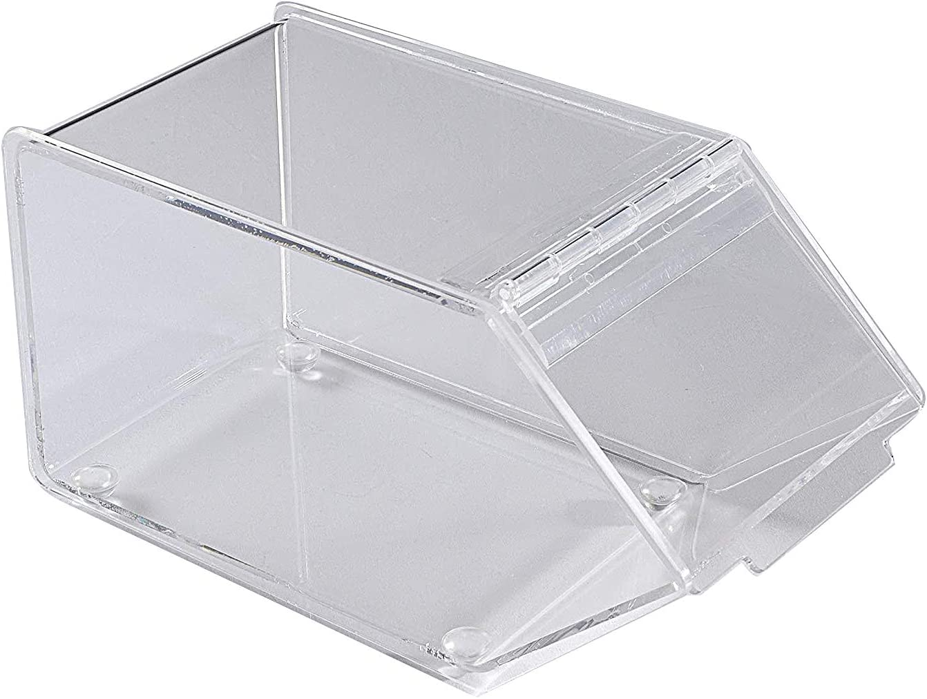 Beans Toys Bins Holder Display Box Lucite Plexiglass Countertop Container 20146-2 Dry Foods FixtureDisplays Acrylic Candy