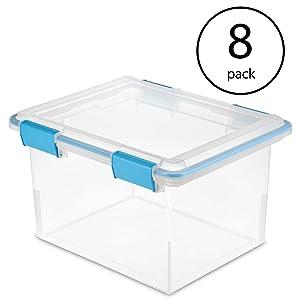 STERILITE 32 Quart Gasket Box (8 Pack)