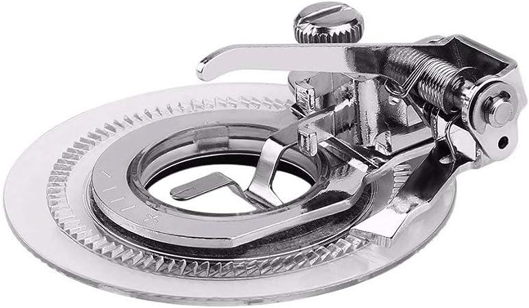 Prensatelas para bordado de disco, para máquina de coser, accesorios de piezas: Amazon.es: Hogar