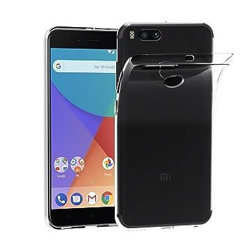 iVoler Funda Carcasa Gel Transparente para Xiaomi Mi A1 / Xiaomi Mi 5X, Ultra Fina 0,33mm, Silicona TPU de Alta Resistencia y Flexibilidad