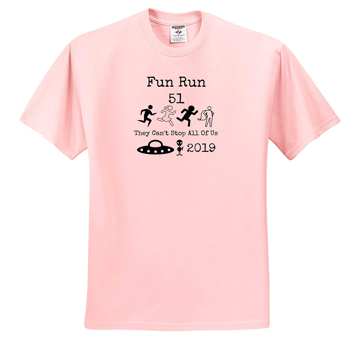 Image Quote Fun Run 51 They Cant Stop All of Us Adult T-Shirt XL ts/_321063 3dRose Carrie Quote Image