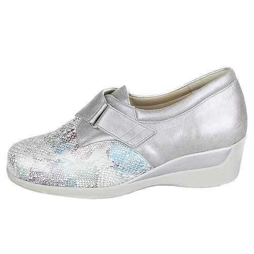 Zapato Mujer con Plantillas extraibles. Pala elástica Especial para Dedos en Garra, Dedos Martillo