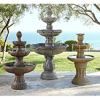 "Ravenna Italian 43"" High Fountain by John Timberland"