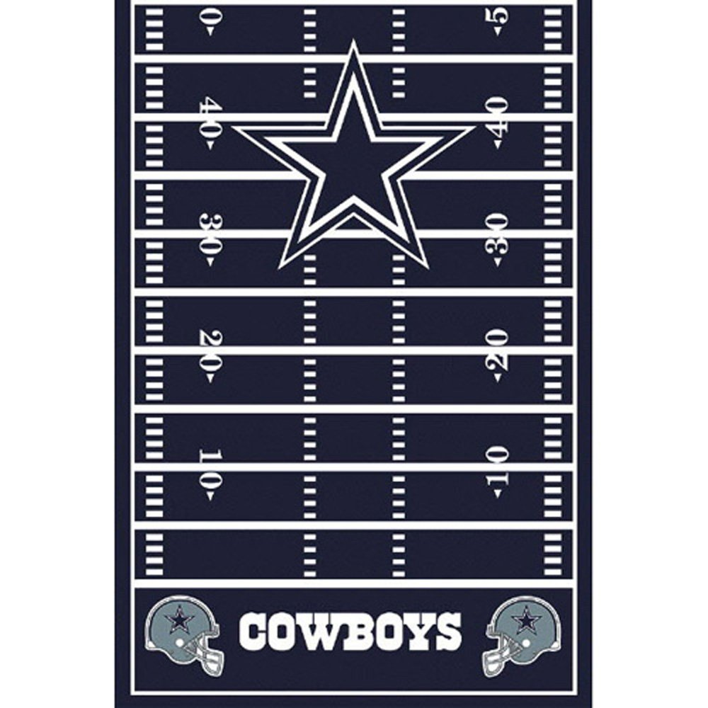 NFL Dallas Cowboys Plastic Table Cover (1ct)