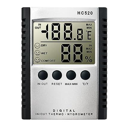 Digital Lcd Wireless Thermometer Desktop Table Clock Temperature Meter Outdoor Indoor Measuring Tools Superior Performance Temperature Instruments Measurement & Analysis Instruments