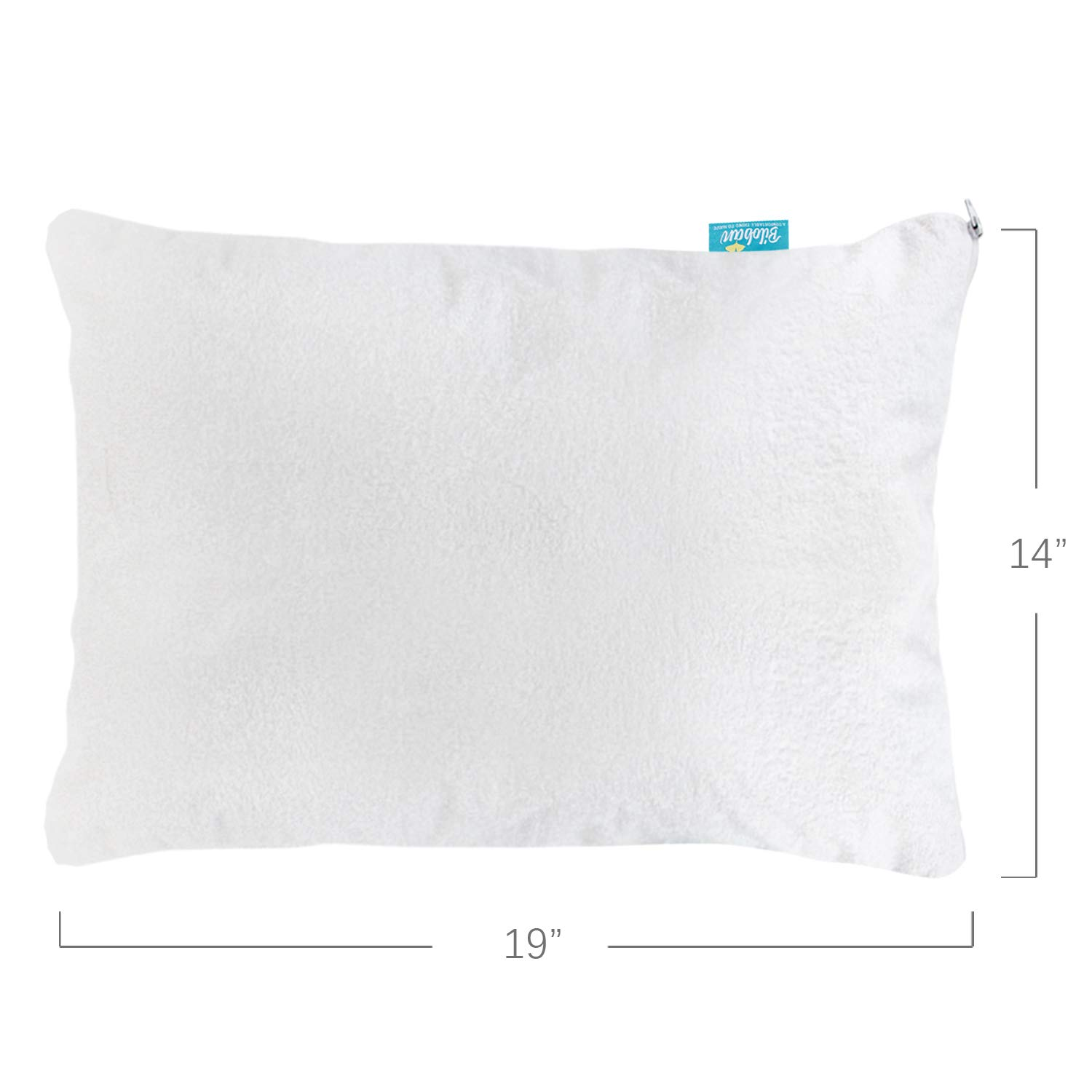 2 Waterproof Cotton Terry Towel Pillow Protector Cover Pillowcases Zippered