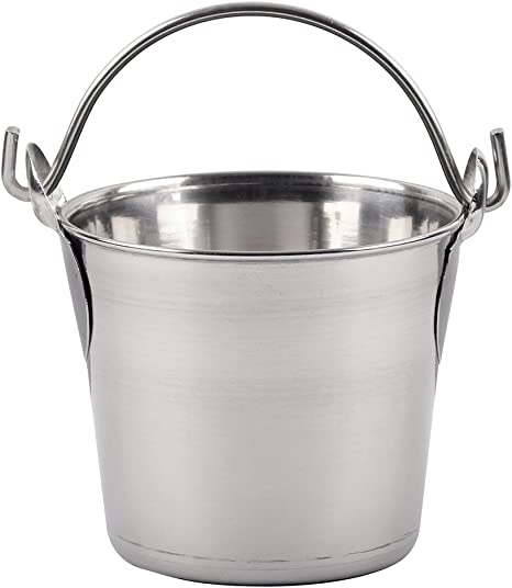 Lindy/'s Stainless-Steel Pail 6 Qt