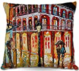 DiaNoche Designs Decorative Woven Couch Throw Pillows from by Karen Tarlton Home Unique Bedroom, Living Room and Bathroom Ideas New orleans French Quarter