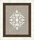 "Melissa Van Hise IP18167 ""Damask On Baked sand I"" Wall Decor offers"