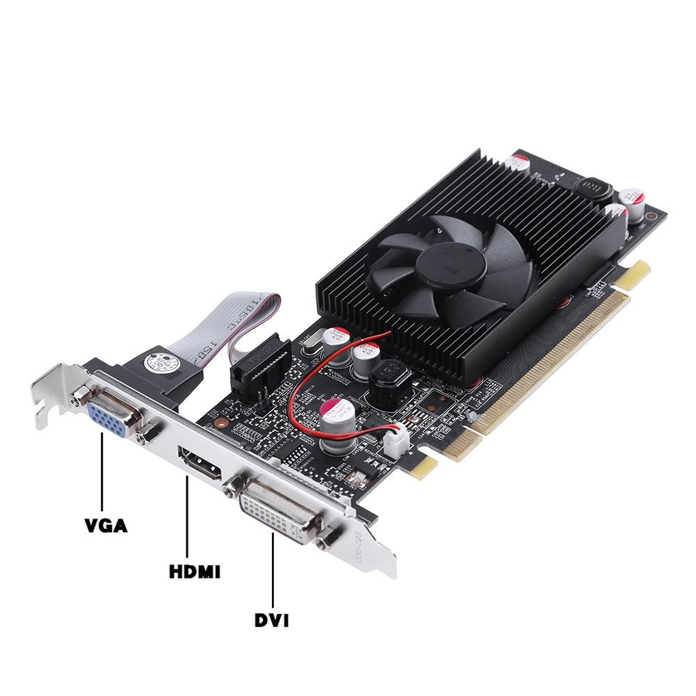 TOOGOO PCI Express2.0 1GB 64Bit DDR2 Juego de un solo ...