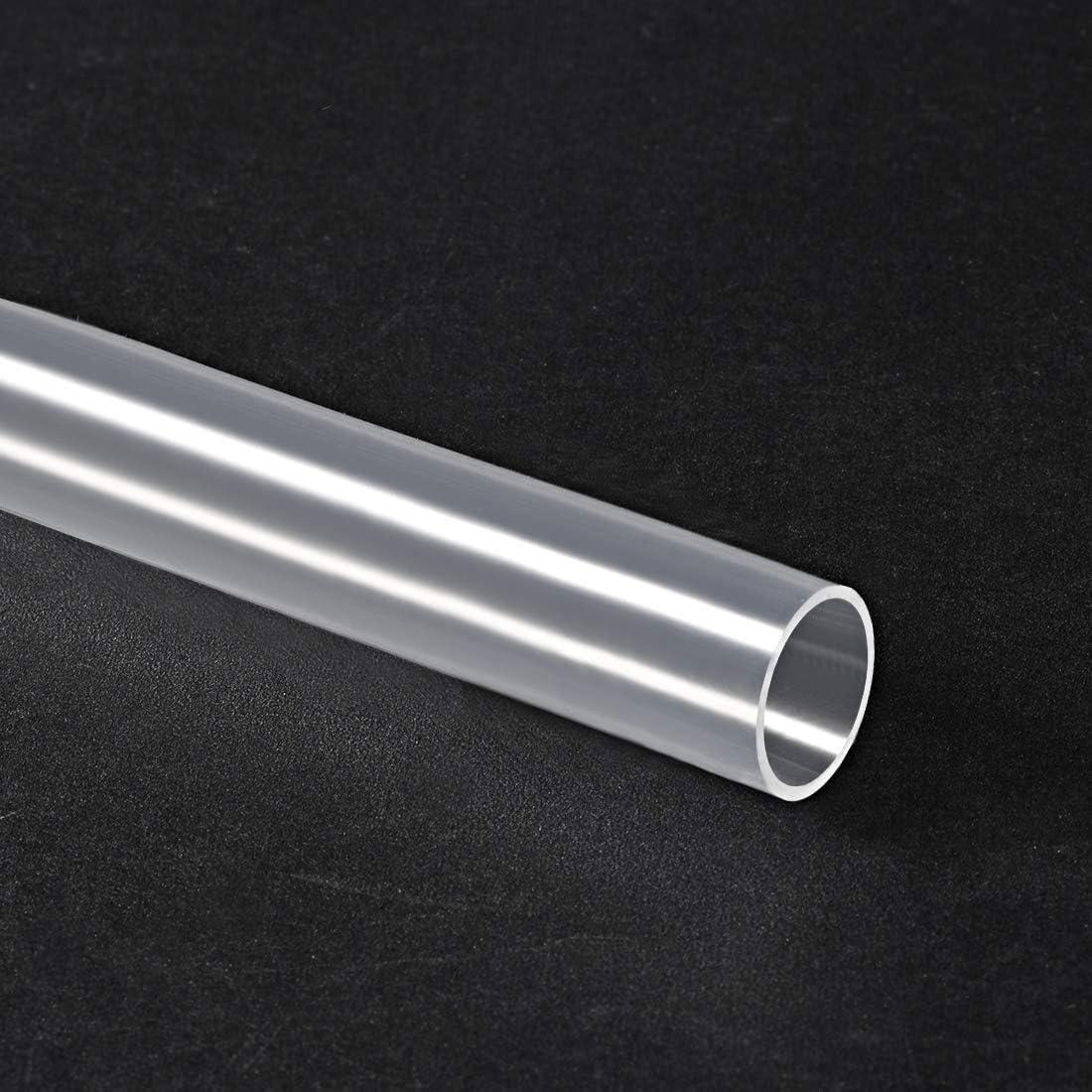 flexibler Silikon-Gummischlauch transparent 1 m Luftschlauch f/ür Pumpen/übertragung 12 mm Innendurchmesser x 14 mm Au/ßendurchmesser Sourcing Map Silikonschlauch