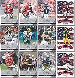 COMPLETE 100 CARD 2016 LEAF NFL DRAFT ROOKIE CARD SET/LOT! BOSA/ELLIOTT/HENRY/GOFF INSERTS!