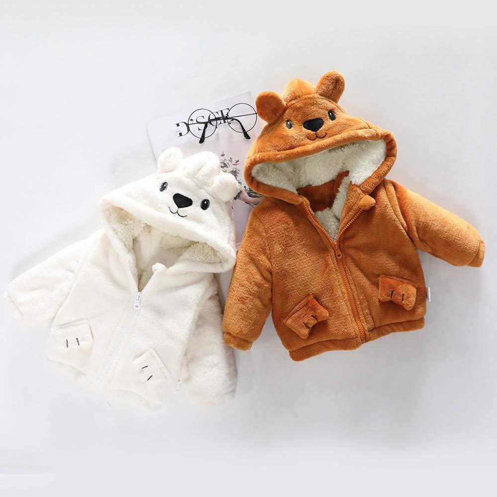 Elecenty Caldo Giacca Cappotto con cappuccio ragazze bambino Vestiti autunno inverno