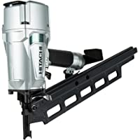 """Hitachi NR83A5(S) 3-1/4"""" Plastic Collated Framing Nailer (Without Depth Adjustment)"""