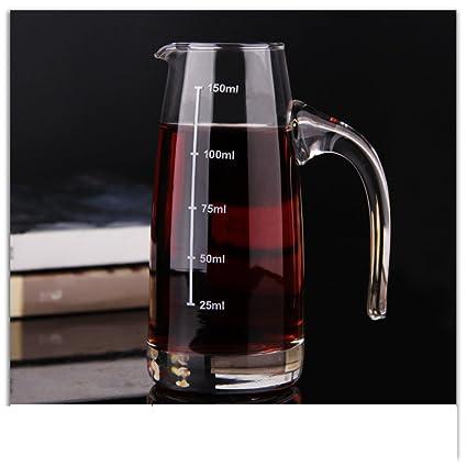 Jarra de vino,cristal,dispensador de vino,vino personalizado-A