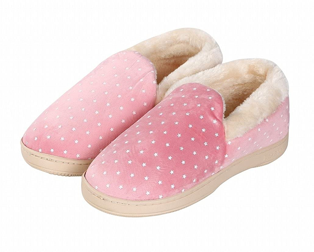 Jane-LEE Bold and Brash House Slippers//Bedroom Shoes//Flat Shoes//Indoor Slippers