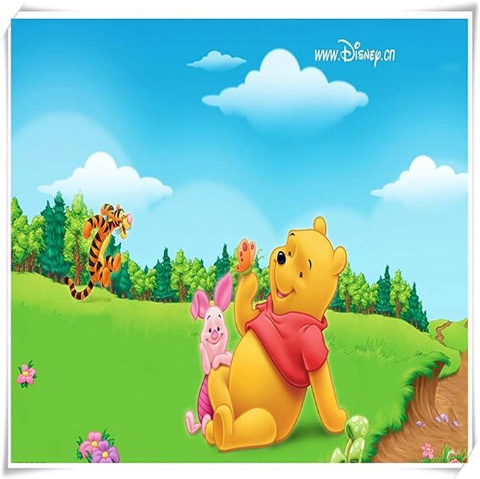 VAST Juegos de Puzzles for Adultos y for niños, Dibujos Animados Animado Winnie The Pooh Rompecabezas, 300 ~ 1000 Piezas en Caja Juguetes Arte del Juego 529 (Color : A ,