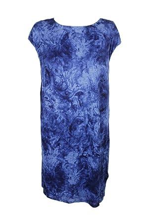 LAUREN RALPH LAUREN Womens Plus Tie-Dye Cap Sleeve T-Shirt ...