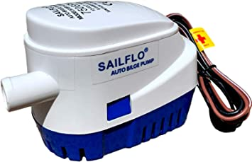 Seaflo Automatic Submersible Boat Bilge Water Pump 12v 750gph Auto with Flo M5B7