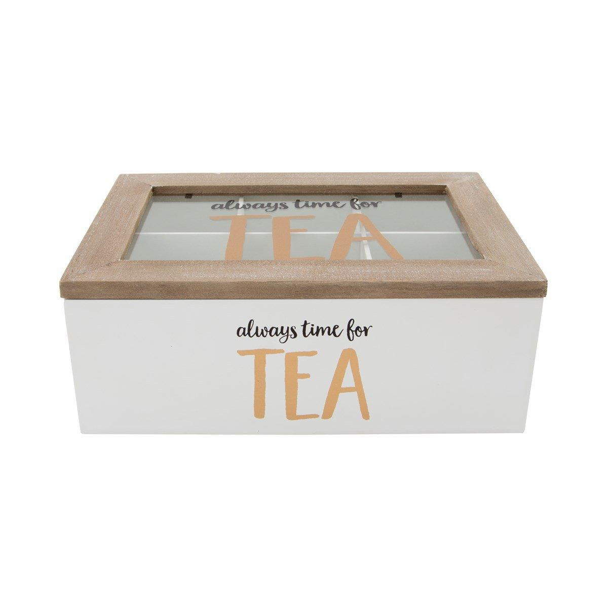 Always Time For Tea Box (HEART473) Sass & Belle