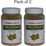 Herbal Hills Lodhra Powder - 100g (Pack of 2)