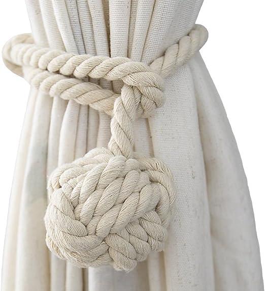 Curtain Tie Back Medium Ball End Hooks Large Selection