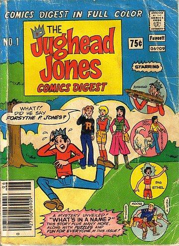 The Jughead Jones Comics Digest, #1 (Jughead Jones)