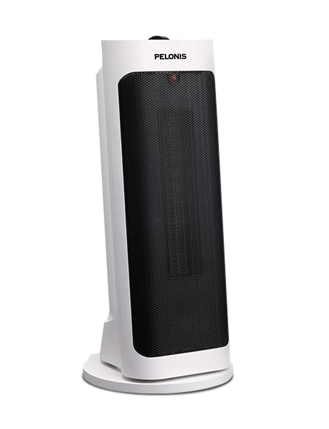 Pelonis PH-19J Pisa Tower Portable Ceramic Space Heater with Wide 1500W Fast Heating, Programmable Thermostat, Easy Control, Oscillation, Over Heating Tip-Over Switch Protection Function, White
